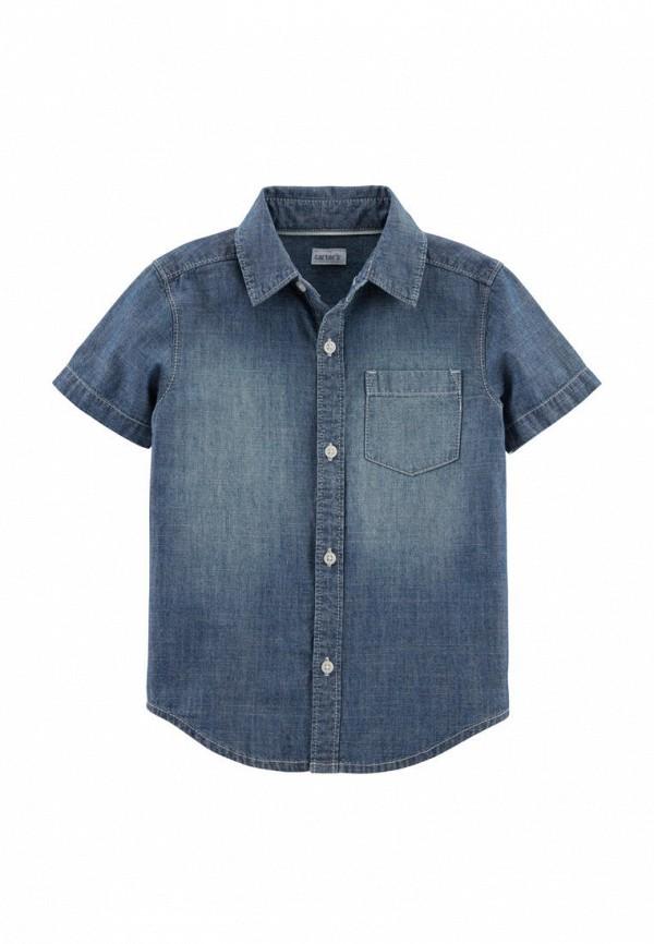 джинсовые рубашка carter's для мальчика, синяя