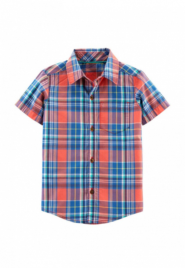рубашка carter's для мальчика, разноцветная