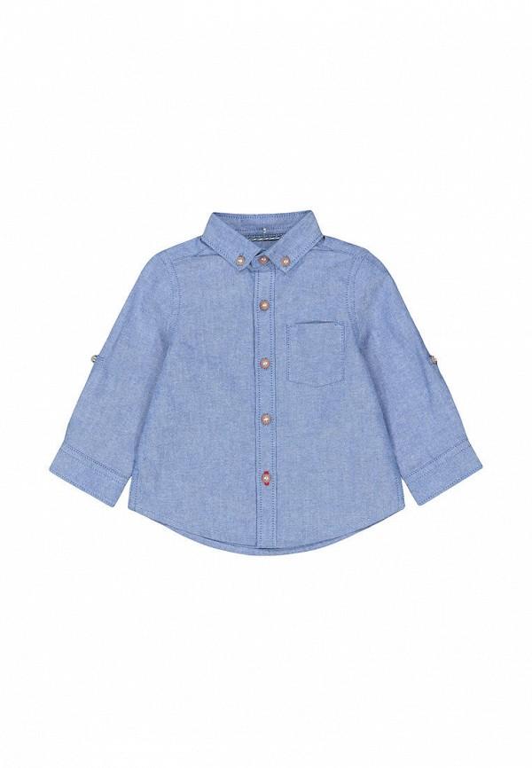 рубашка mothercare для мальчика, синяя