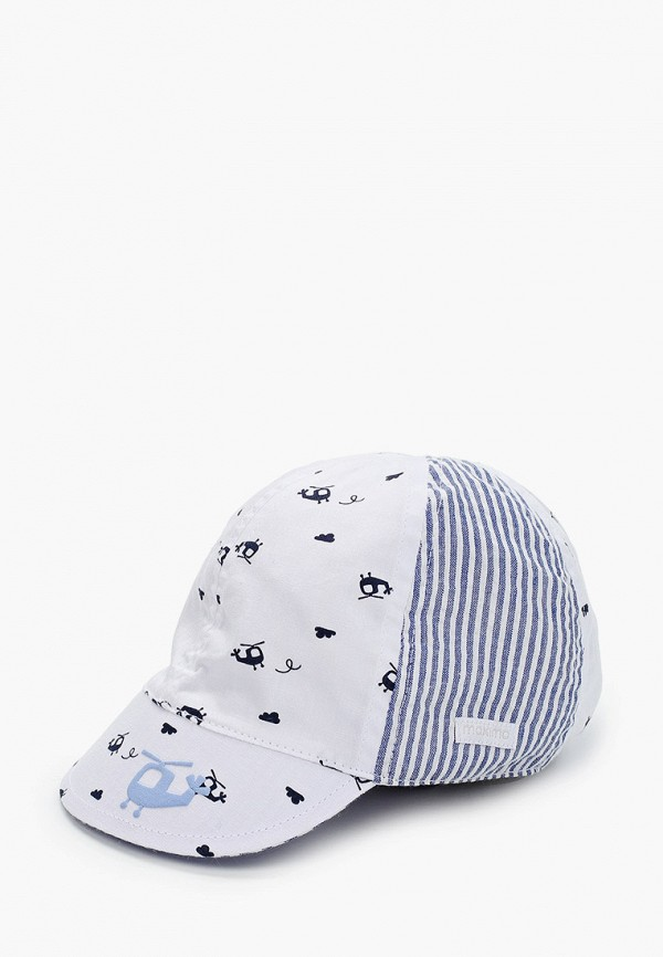 Детская кепка Maximo цвет белый