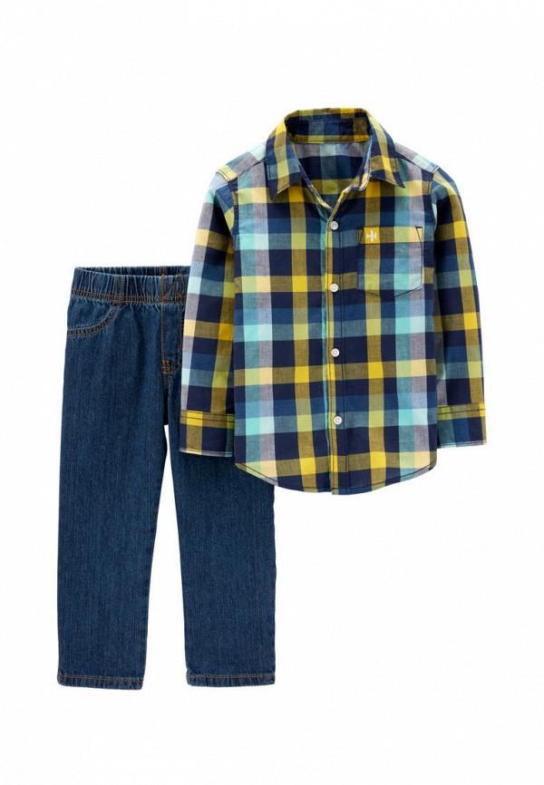 костюм carter's для мальчика, синий