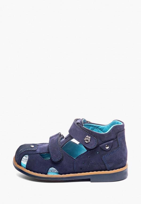 сандалии theo leo для мальчика, синие