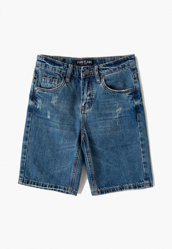 джинсовые шорты finn flare для мальчика, синие