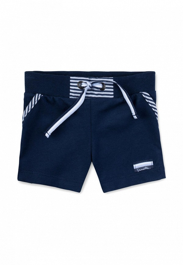 шорты sanetta для мальчика, синие
