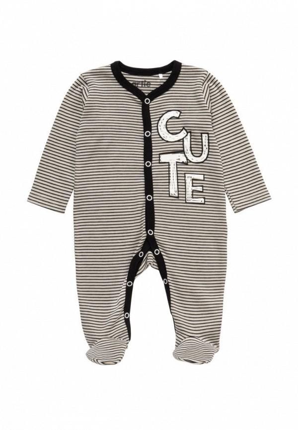 комбинезон с брюками artie для мальчика, серый