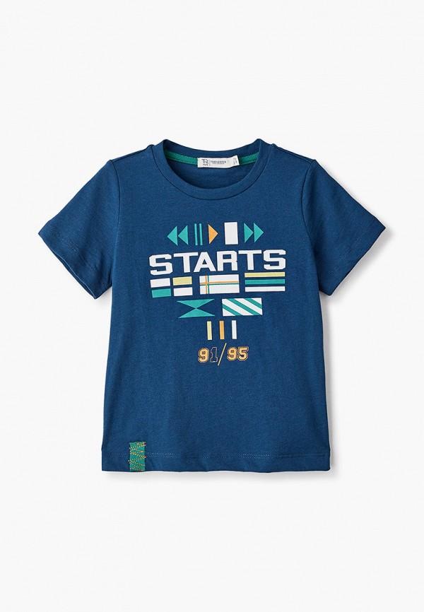 футболка с коротким рукавом trenders для мальчика, синяя