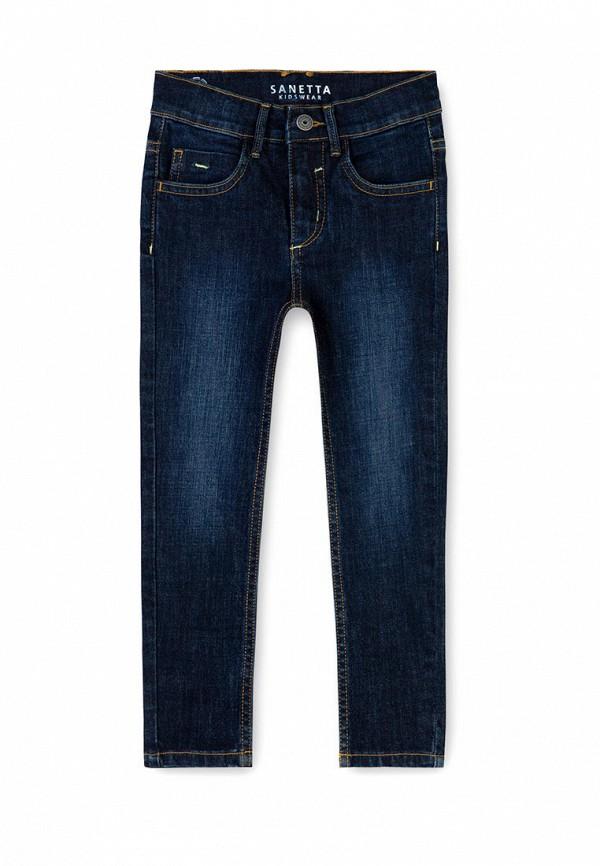 джинсы sanetta для мальчика, синие