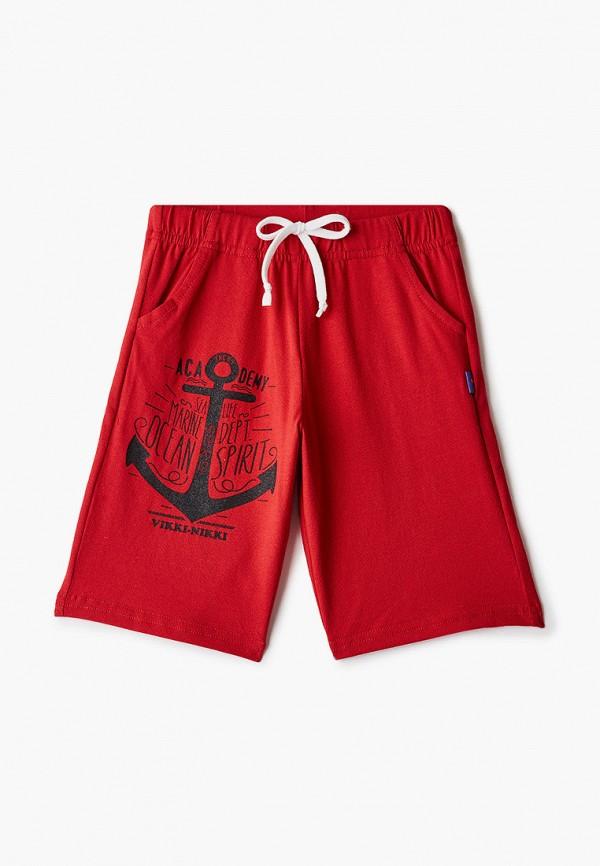 спортивные шорты vikki-nikki для мальчика, красные