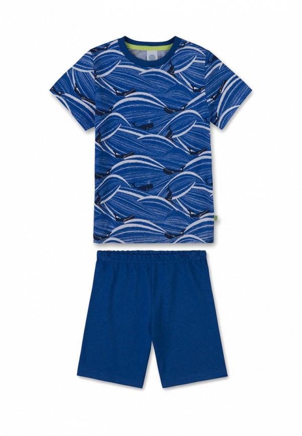пижама sanetta для мальчика, синяя