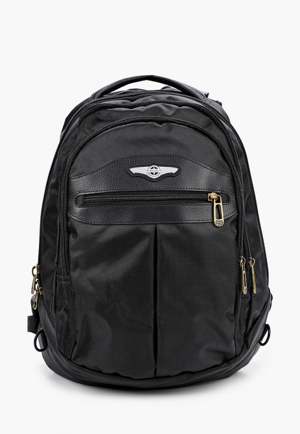 рюкзак stelz для мальчика, черный