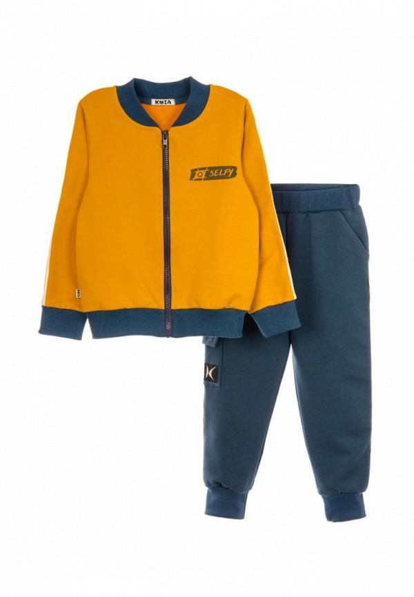 спортивный костюм кузя для мальчика, разноцветный