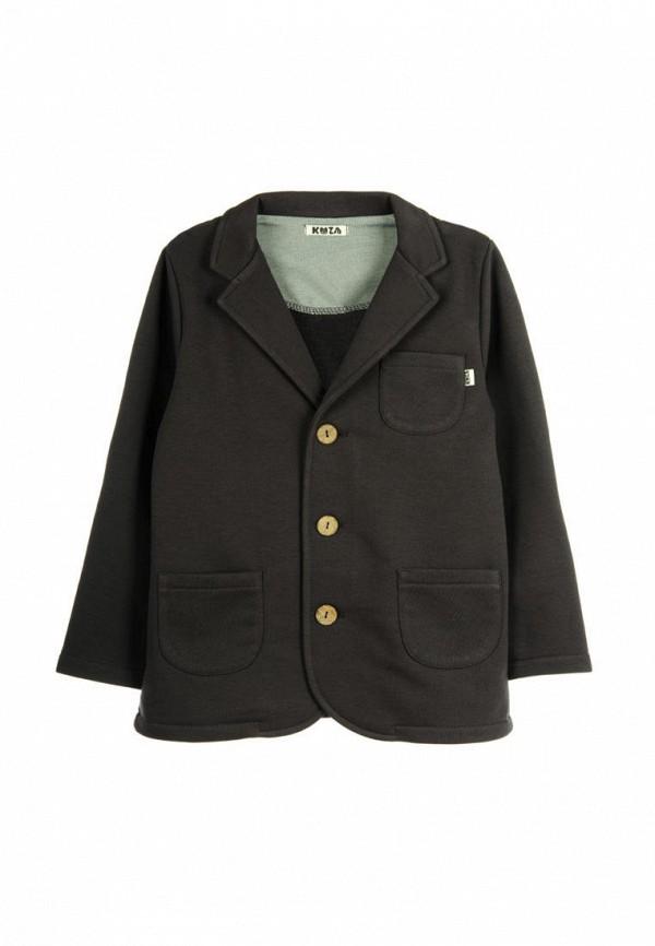 пиджак кузя для мальчика, серый