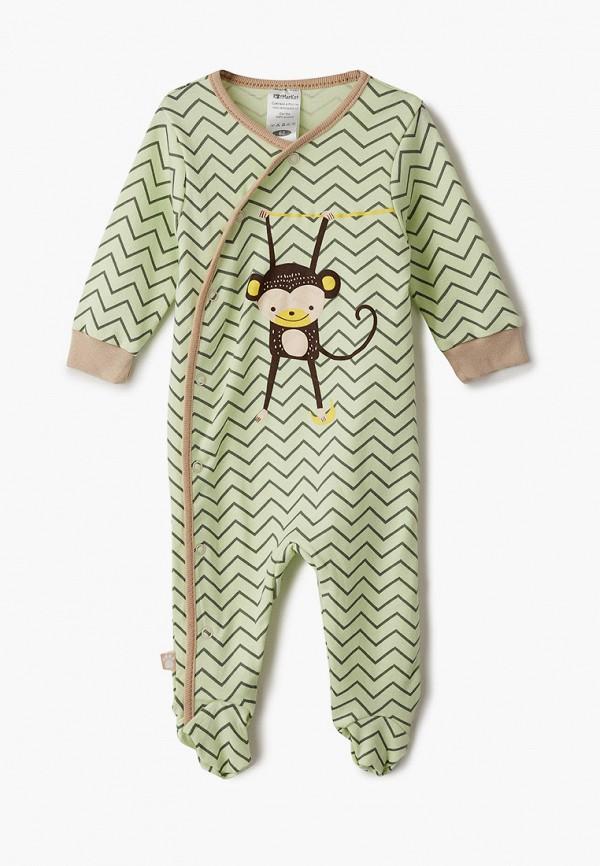 комбинезон с брюками котмаркот для мальчика, зеленый