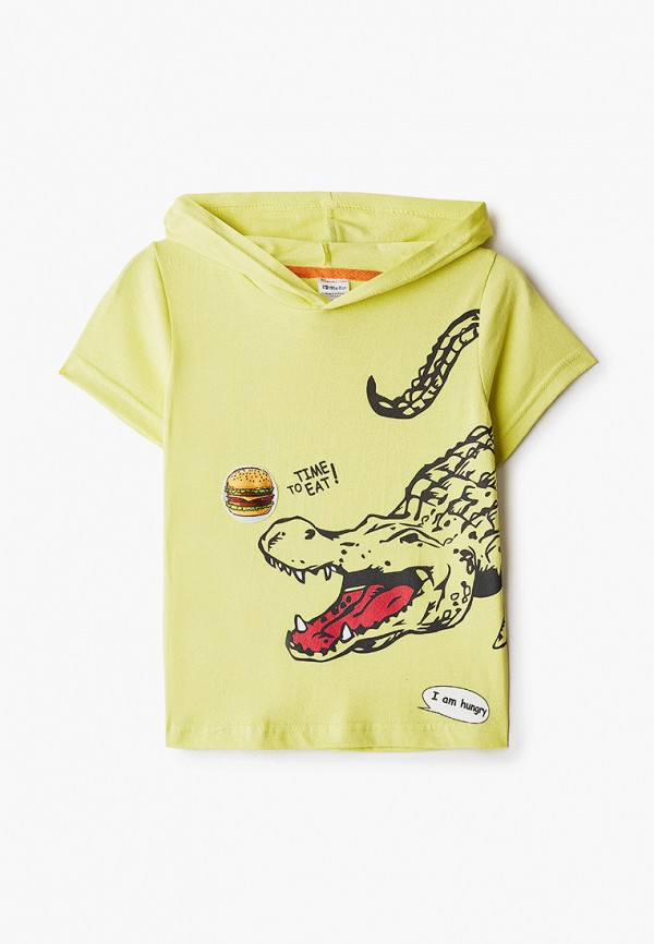 футболка с коротким рукавом котмаркот для мальчика, желтая