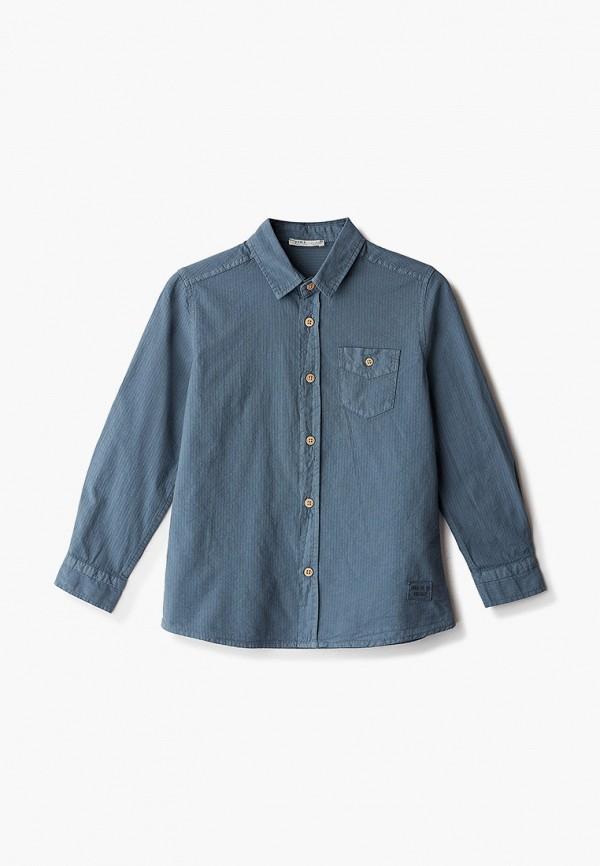 рубашка defacto для мальчика, синяя