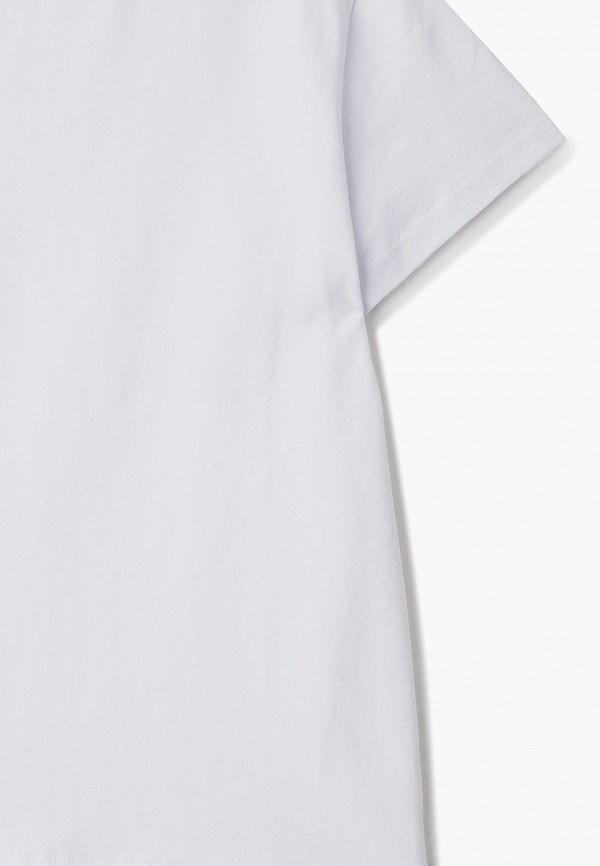 Футболка для мальчика NinoMio цвет белый  Фото 3
