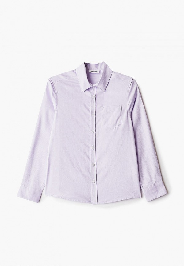 рубашка acoola для мальчика, фиолетовая