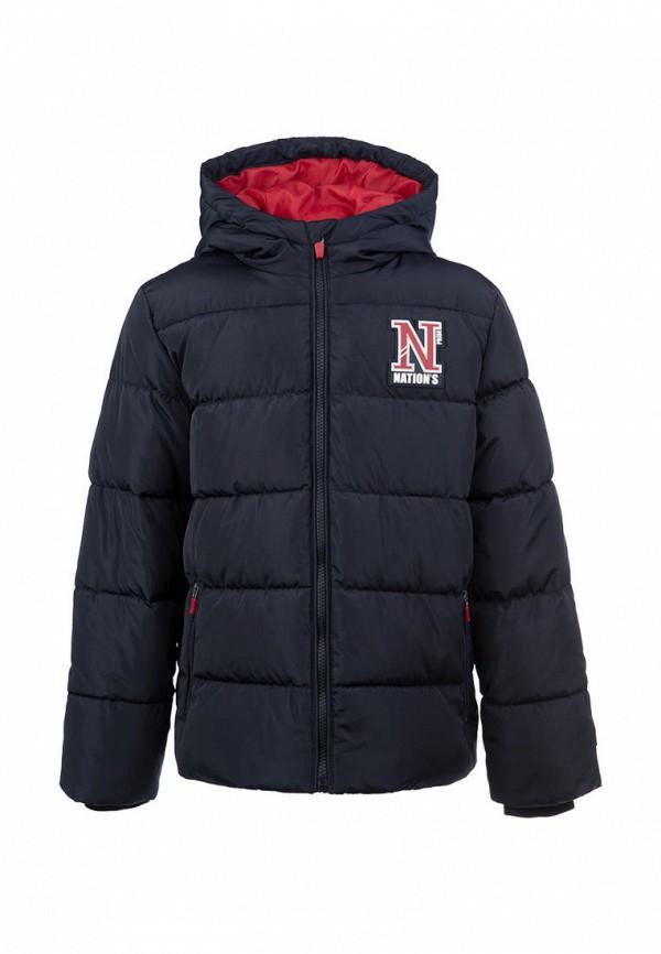 утепленные куртка playtoday для мальчика, синяя
