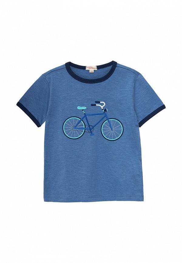 футболка с коротким рукавом du pareil au même для мальчика, синяя