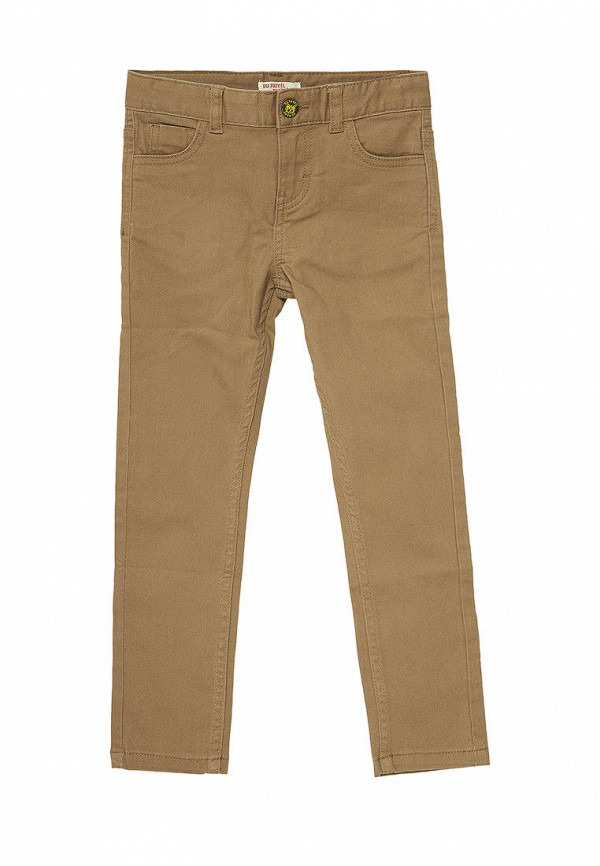 брюки du pareil au même для мальчика, коричневые