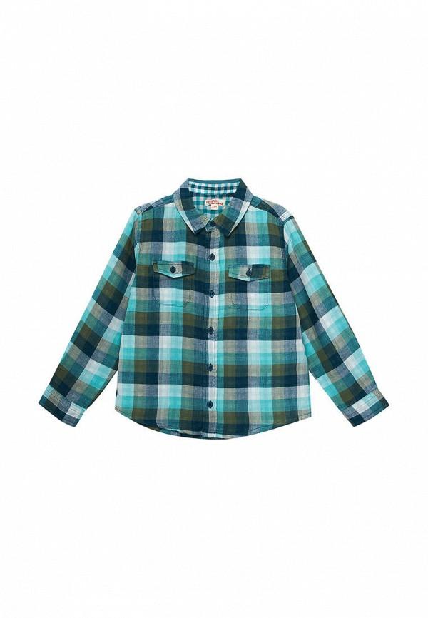 рубашка du pareil au même для мальчика, разноцветная