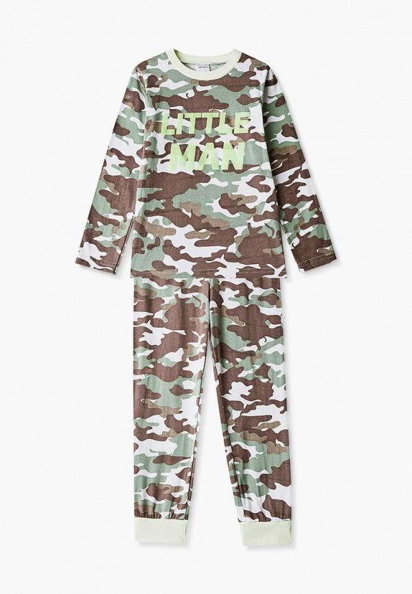 пижама котмаркот для мальчика, хаки