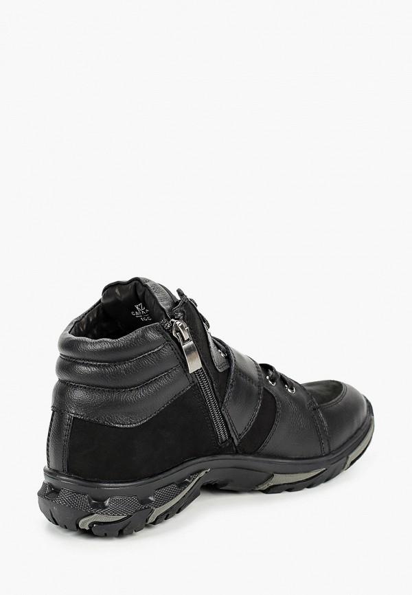 Ботинки для мальчика Alessio Nesca цвет черный  Фото 3