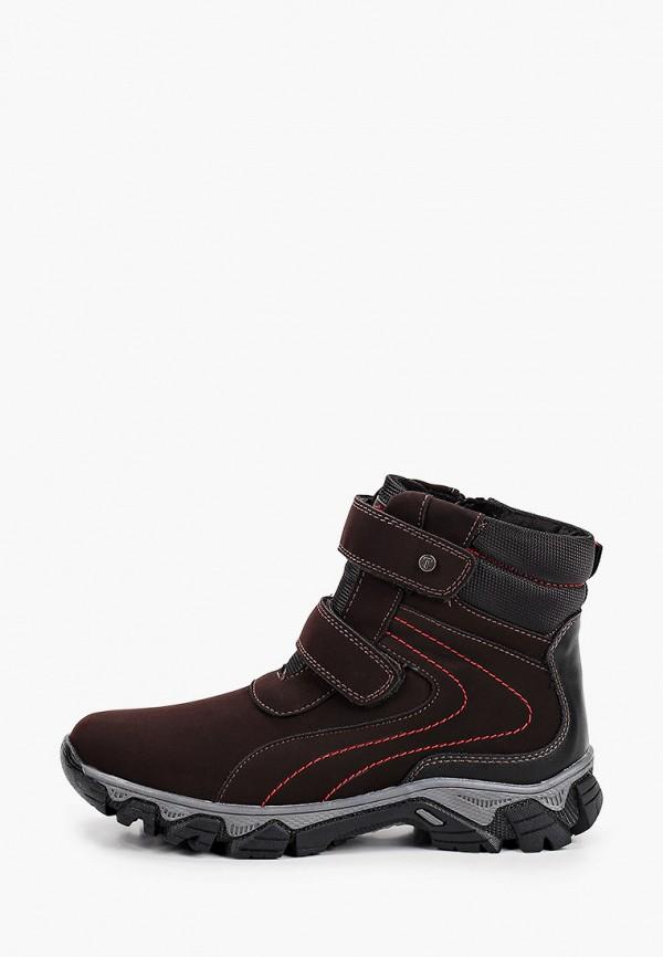 Ботинки для мальчика T.Taccardi цвет коричневый
