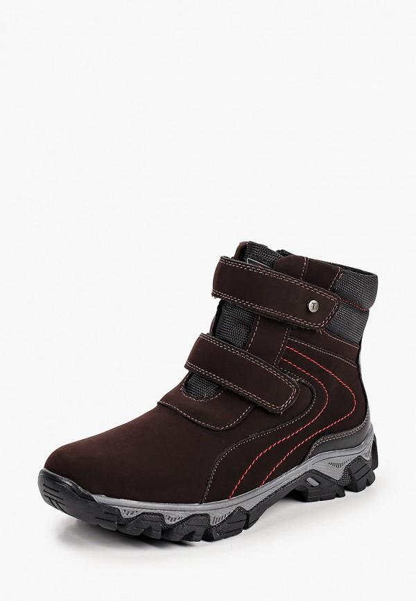 Ботинки для мальчика T.Taccardi цвет коричневый  Фото 2