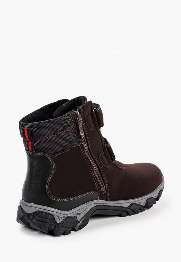 Ботинки для мальчика T.Taccardi цвет коричневый  Фото 3