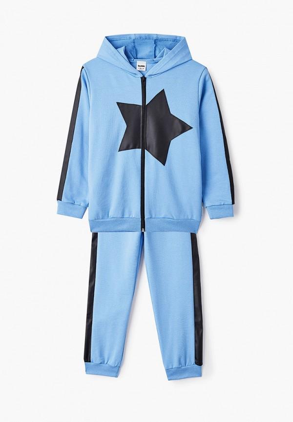 спортивный костюм looklie для мальчика, голубой