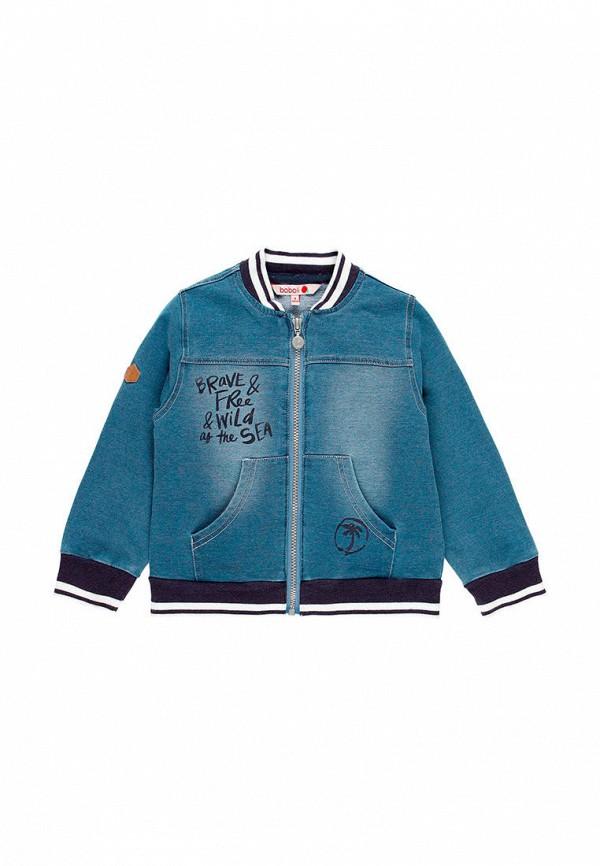 куртка boboli для мальчика, синяя
