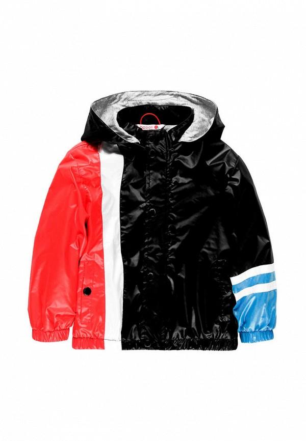 куртка boboli для мальчика, черная