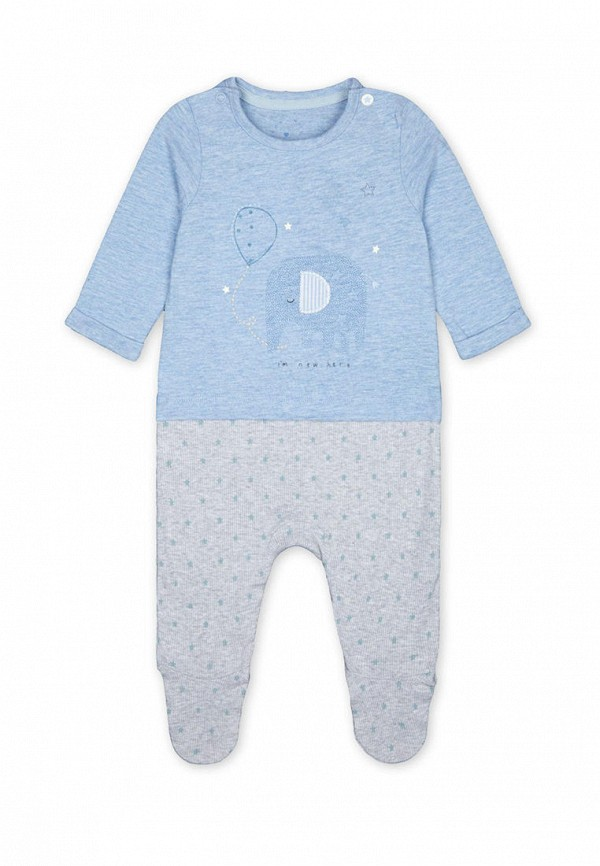 комбинезон mothercare для мальчика, голубой