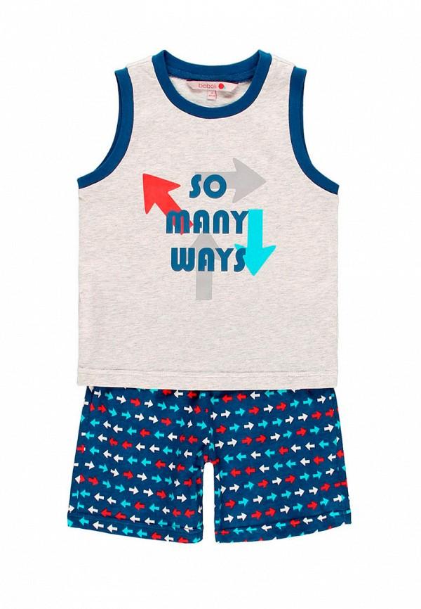 пижама boboli для мальчика, разноцветная