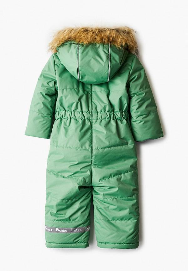 Детский комбинезон утепленный Zukka цвет зеленый  Фото 2