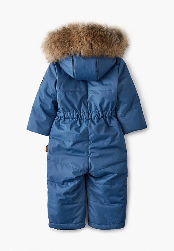 Детский комбинезон утепленный Zukka цвет синий  Фото 2