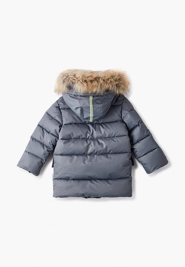 Куртка для мальчика утепленная АксАрт цвет серый  Фото 2