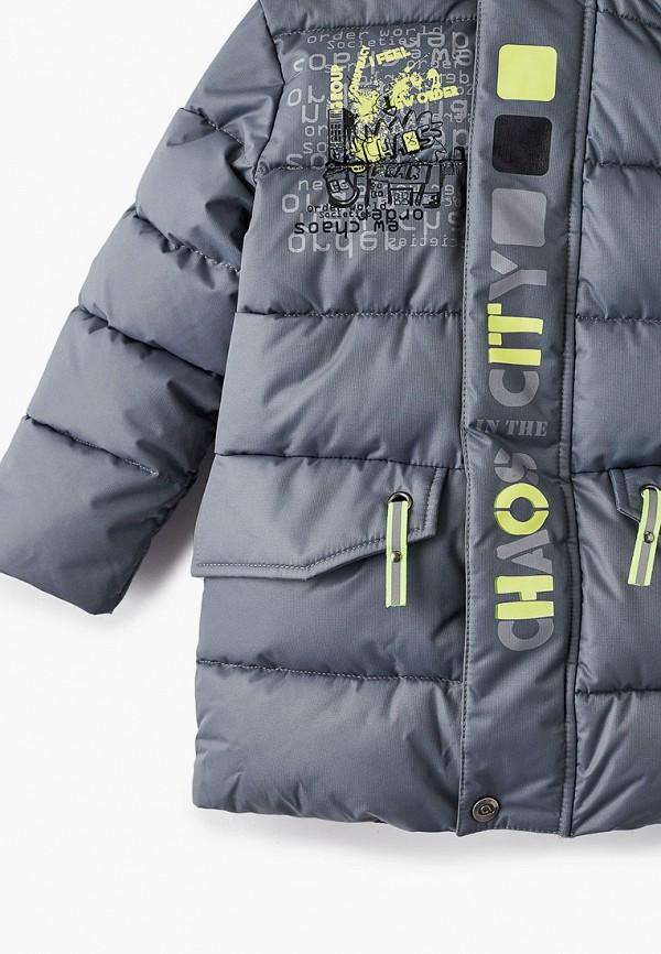 Куртка для мальчика утепленная АксАрт цвет серый  Фото 3