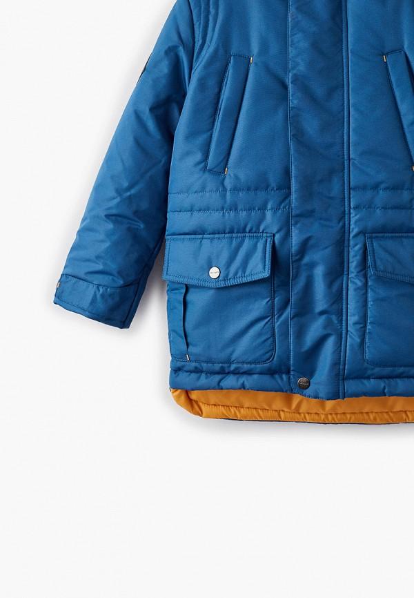 Куртка для мальчика утепленная АксАрт цвет синий  Фото 3