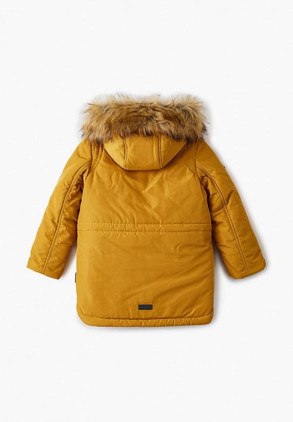 Куртка для мальчика утепленная АксАрт цвет желтый  Фото 2