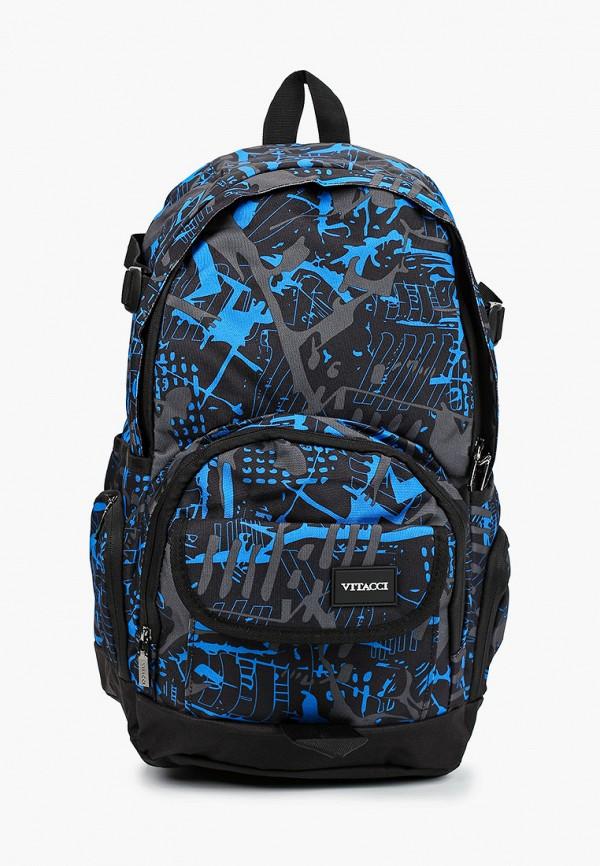 рюкзак vitacci для мальчика, синий