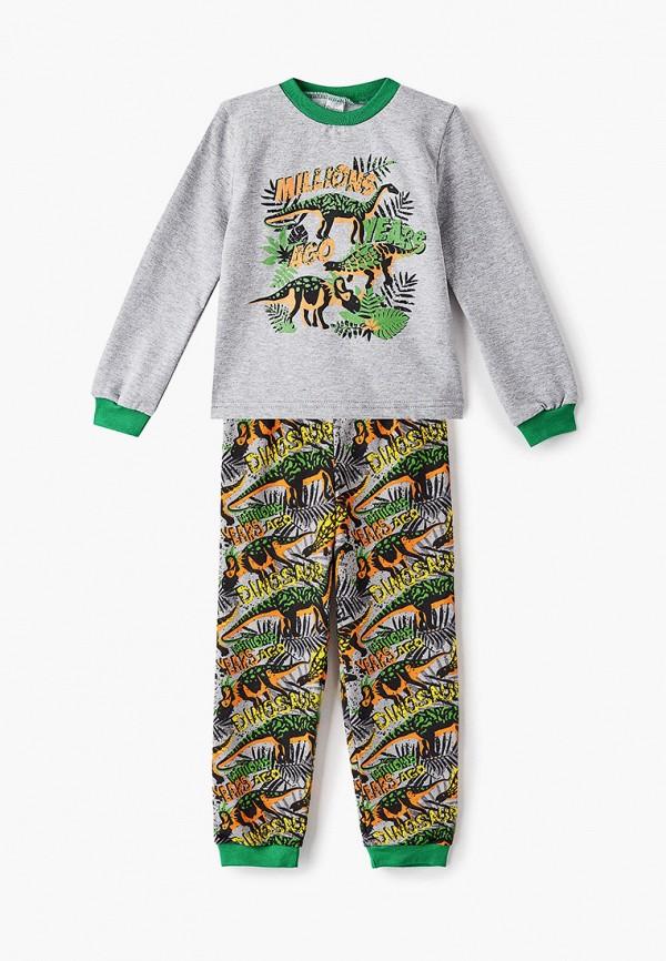Пижама для мальчика Веселый малыш цвет разноцветный