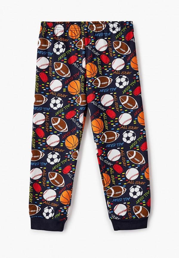 Пижама для мальчика Веселый малыш цвет синий  Фото 4