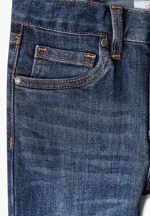 Джинсы для мальчика Stenser цвет синий  Фото 3