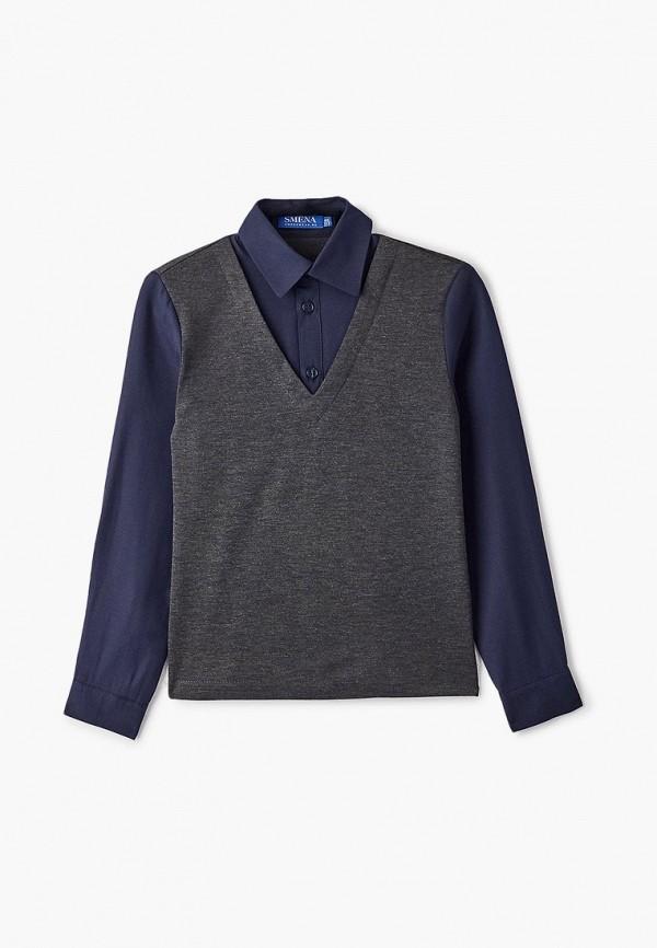 Пуловер Smena Smena  серый фото