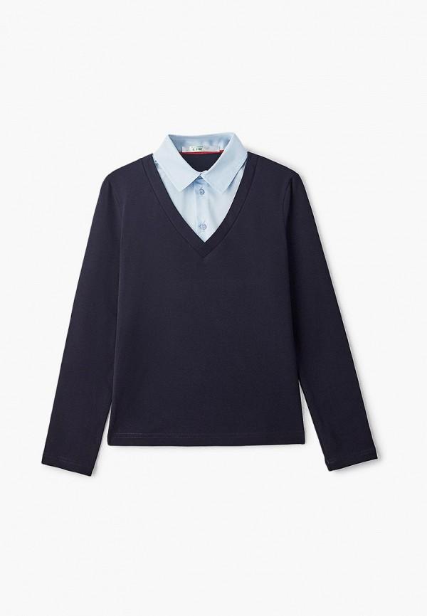 пуловер lik fashion для мальчика, синий