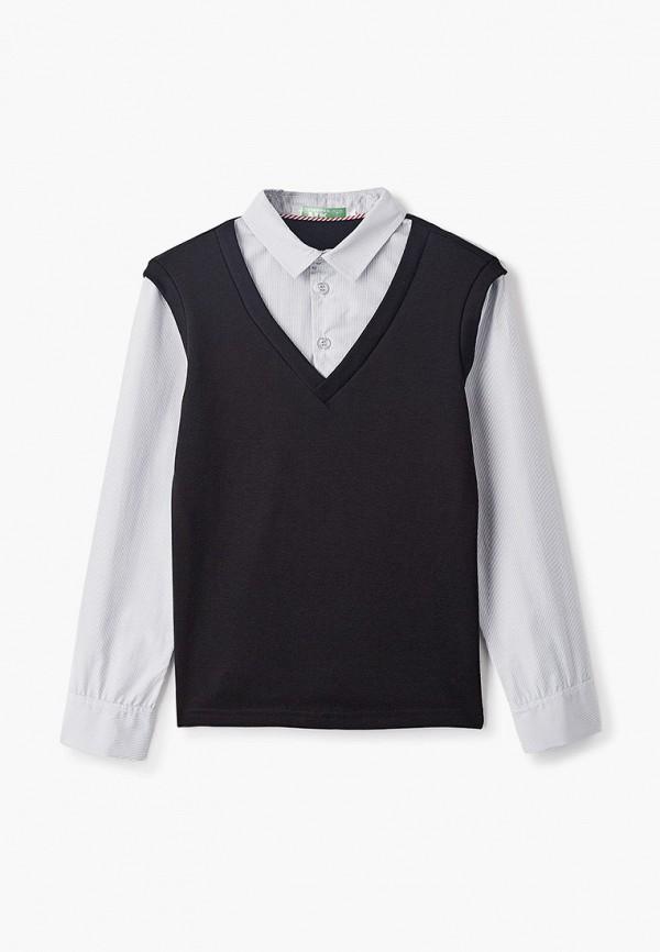 пуловер lik fashion для мальчика, черный