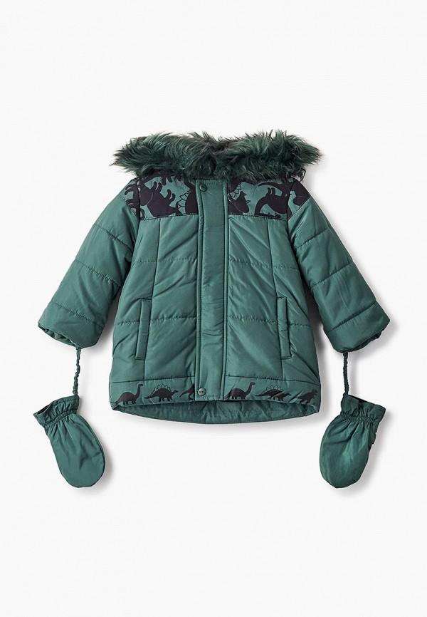 Куртка утепленная Coccodrillo зеленого цвета
