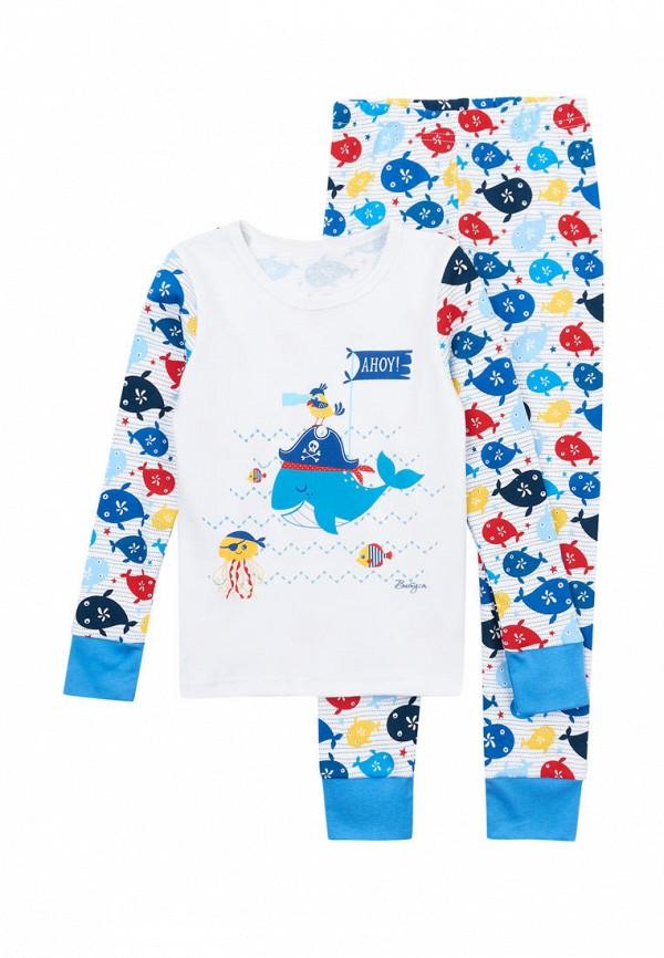 пижама вітуся для мальчика, белая